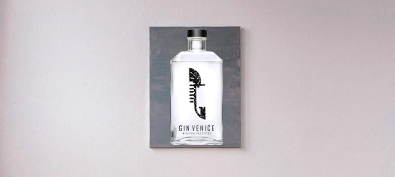 Gina Venice bottiglia di Murano